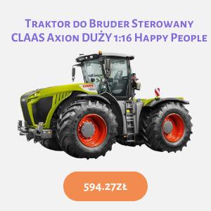 traktor sterowany dla dzieci